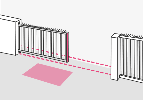 Activating and securing sliding gates - BBC Bircher Smart Access