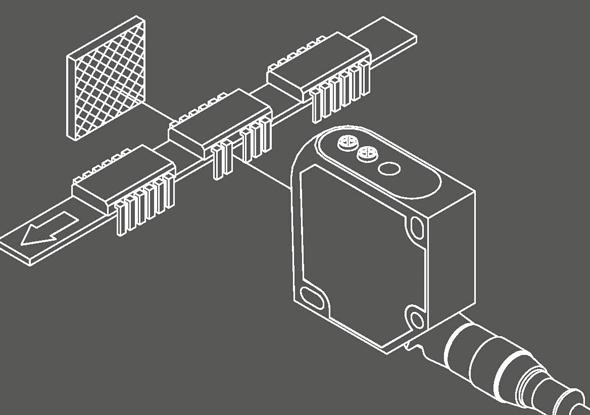 laser reflector photocell FR 55-RL | SensoPart