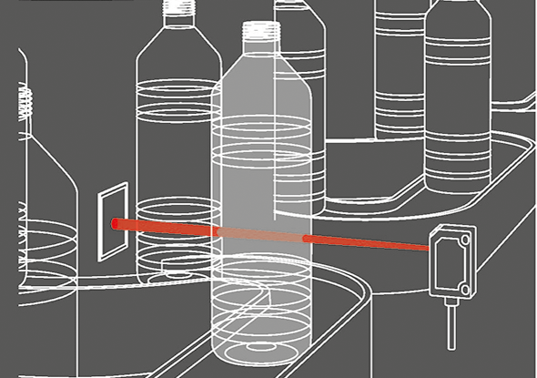 Detection of transparent objects | FR 25-RGO | SensoPart