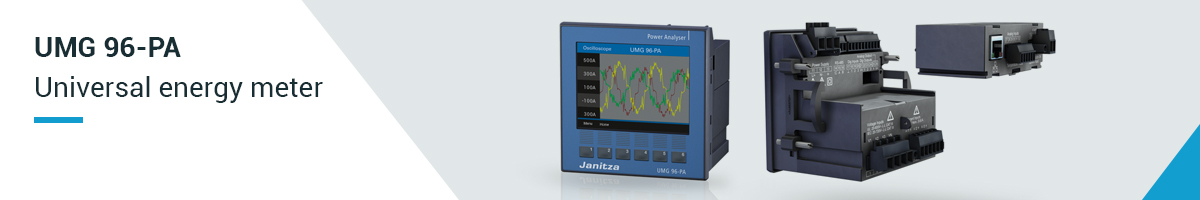 Universal energy measurement device - UMG 96-PA - Janitza