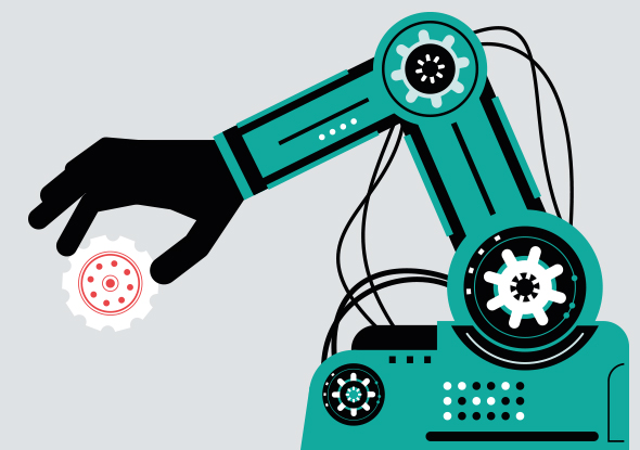 De march of the industrial robot - fortop