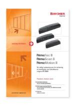 Bircher Reglomat Primetech B, Primescan B and Primemotion