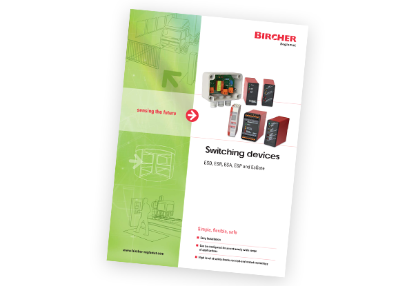Brochure switching devices Bircher Reglomat | EsGate | EsMatix