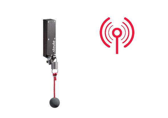Wireless pull-cord switch RF 96 WH - Nexy
