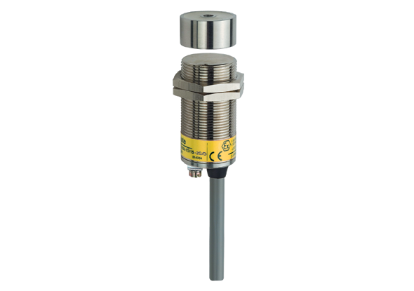 Non-contact safety switch cylindrical - Ex zone 1 and 21 - Steute