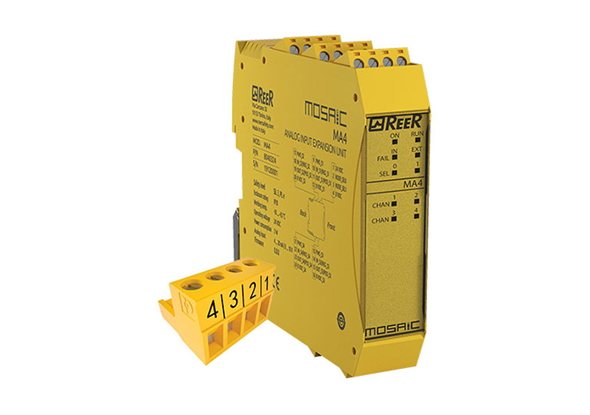 Analog input module MA4 - ReeR Safety