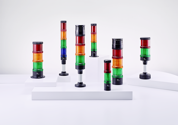 Signal lights and signal lamps | ECOmodul | Auer Signal
