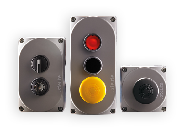Wireless push buttons and control switches | steute