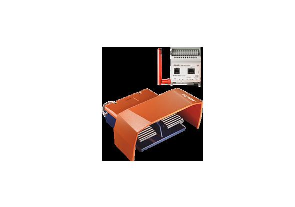 Foot pedal wireless RF GFS 2 D - steute