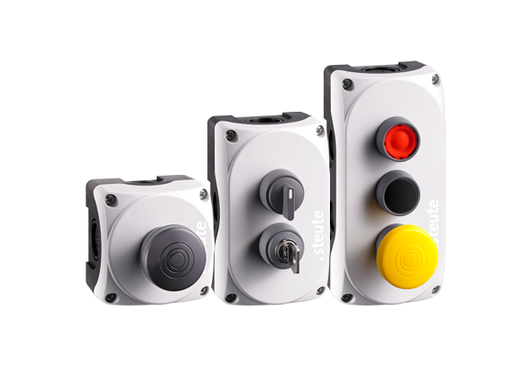 Wireless push buttons and control switches steute