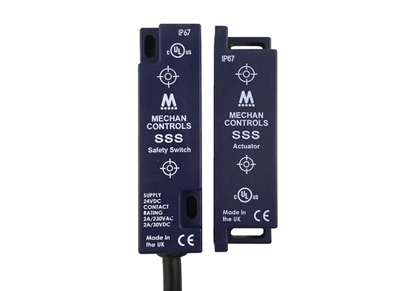 SSS-series electronic safety switches | Mechan Controls