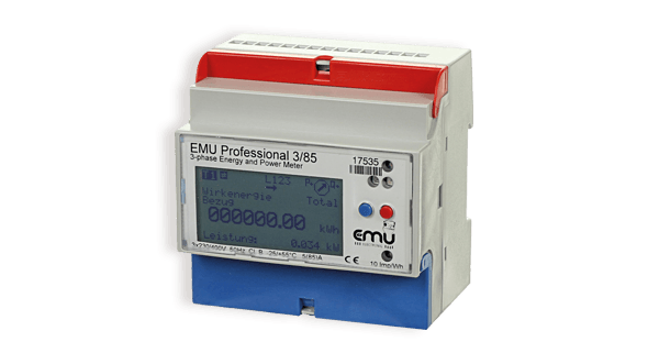 KWh meter and logger | Allrounder and Professional | EMU