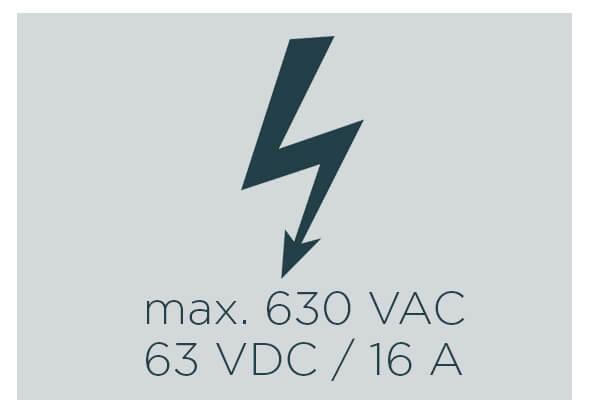 ESCHA M12 Power voltage