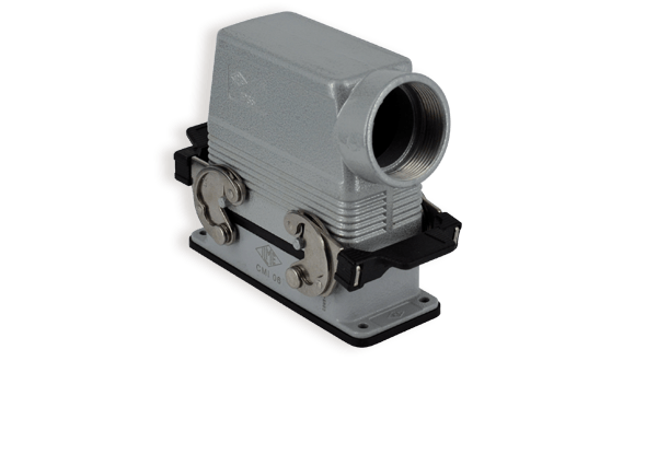 Industrial connector modular with IP69K housing C-type | ILME