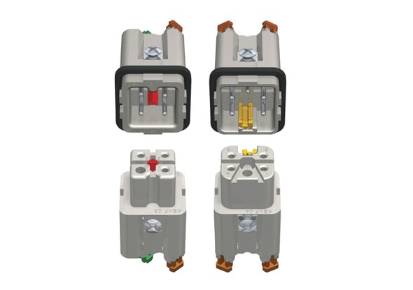 Four pole industry connector | ILME