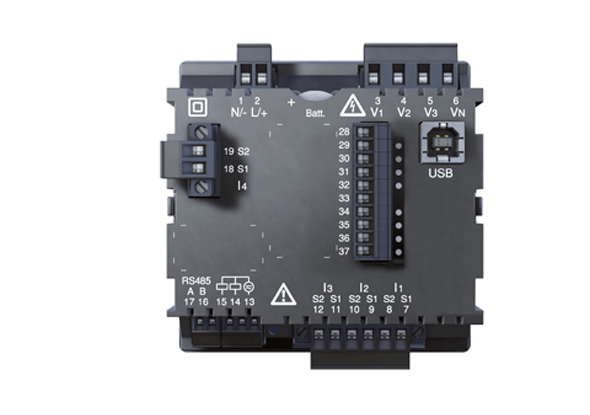 Universal Energy Meter - UMG 96RM-CBM Clock Battery Memory - Janitza