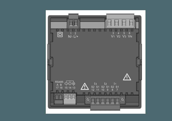 Universal meter UMG 96RM - Janitza