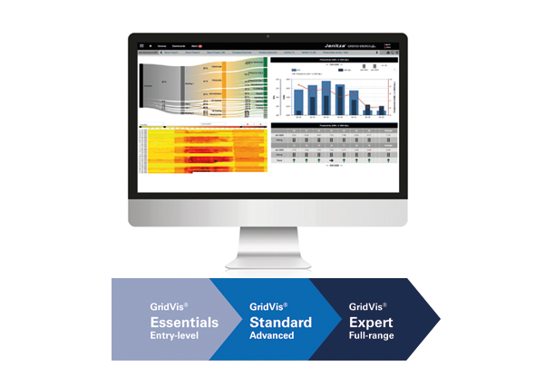 GridVis® Expert - Energy analysis software - Janitza