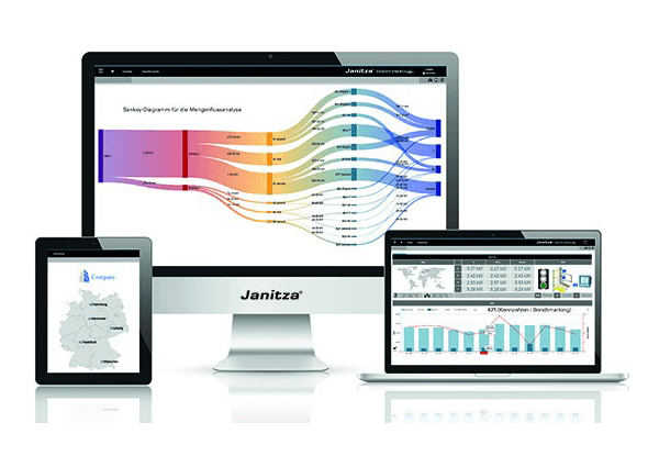 Gridvis analysis software - energy management system - Janitza