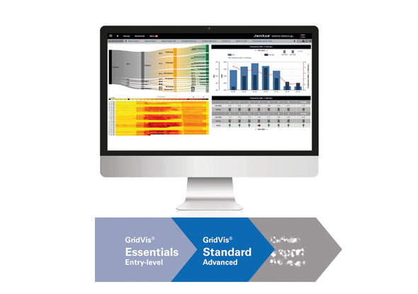 GridVis® Standard - Energy analysis software - Janitza