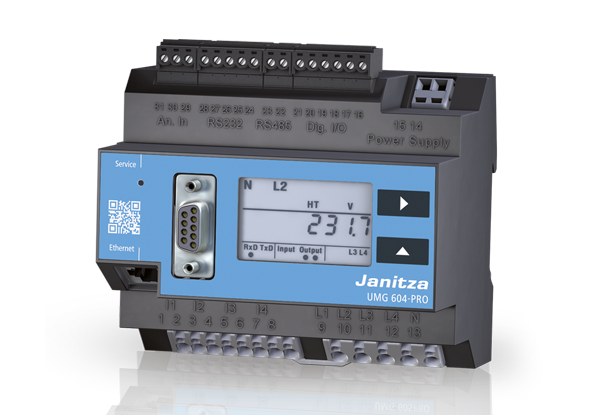 Power analyzer UMG 604-PRO - Janitza