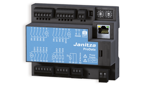 Janitza PRO Data data logger