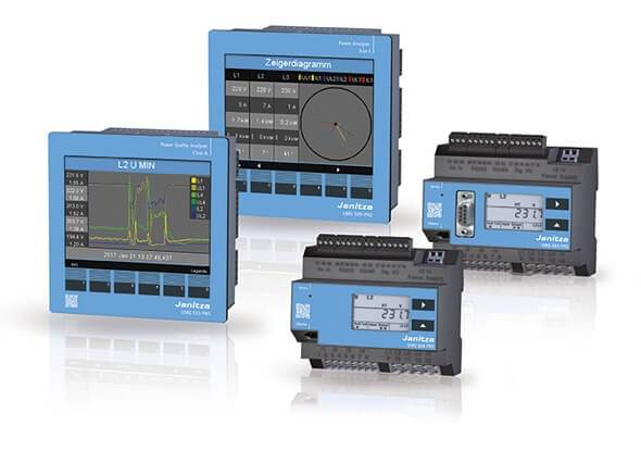 Energy measurement devices - Power Quality Analyzers - Janitza PRO-serie