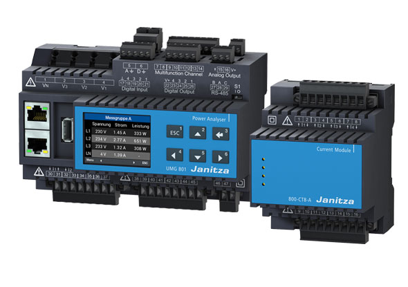 All-in-one analyzer UMG 801 - Janitza