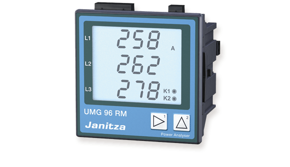 Universal measurement device UMG 96 RM - Janitza