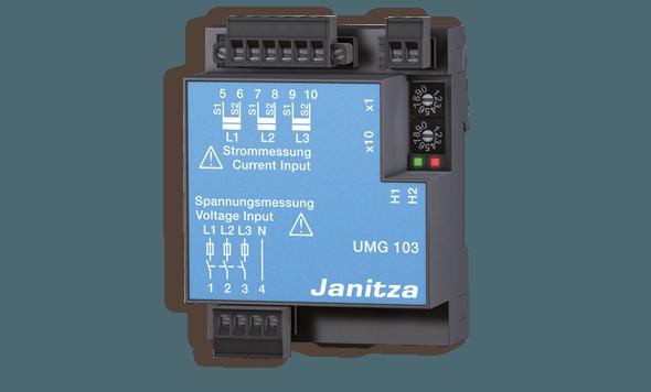 Universal energy meter UMG 103 - Janitza