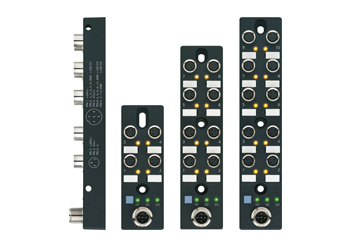 M8x1 I/O-junctionbox with active logic function - ESCHA