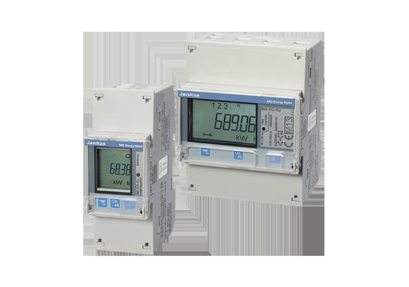 MID kWh meter - kilowatt hour meter B21 - B23 - Janitza