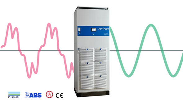 Active harmonic and dynamic filter P300 - Comsys