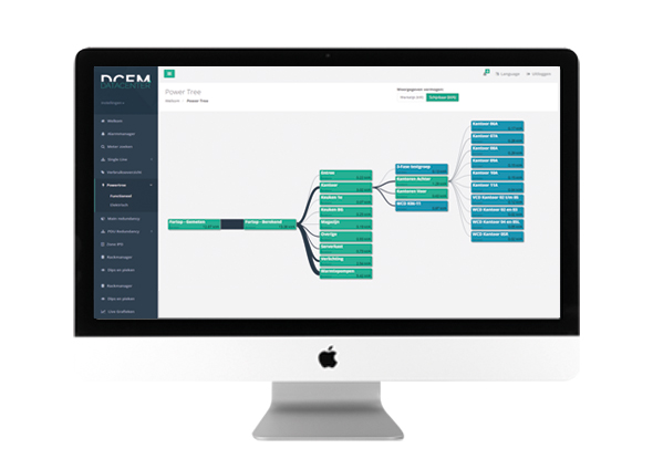 Energy management system - DCEM