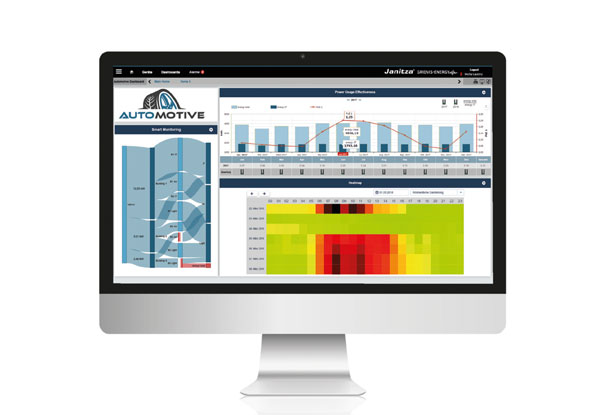 Power monitoring software - Janitza GridVis® Ultimate
