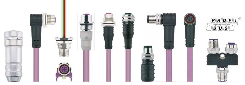 Profibus cables and connectors - ESCHA