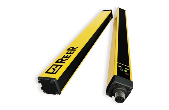 Safety light curtain internal monitoring external monitoring - ReeR Safety