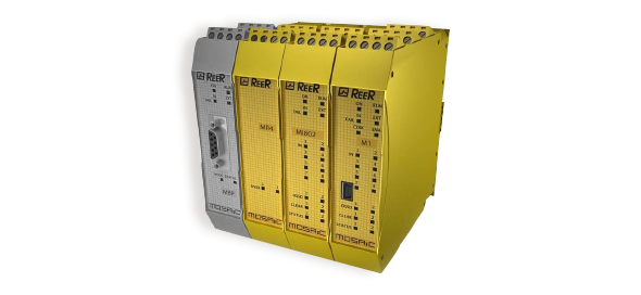 Programmable safety relay - Mosaic - ReeR Safety