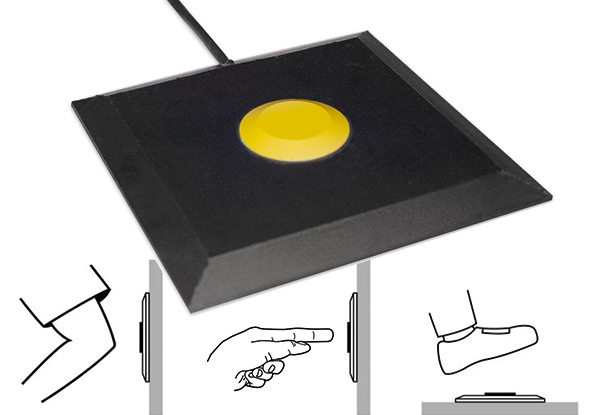 ES button safety mat - BBC Bircher Smart Access