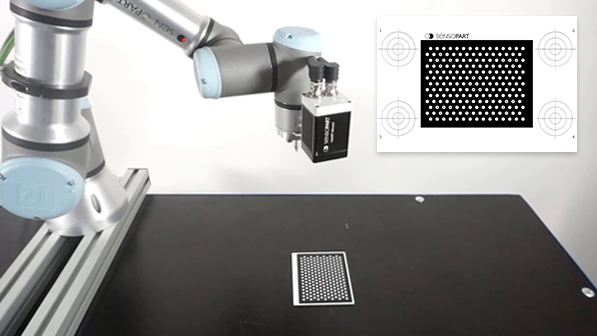 Calibration plate for VISOR® robotic vision cameras - SensoPart