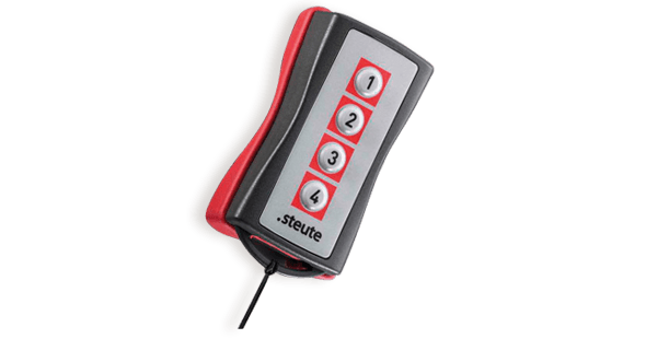 Wireless hand control switch | steute