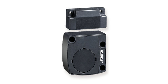 Wireless magnetic switch for small installation applications - steute