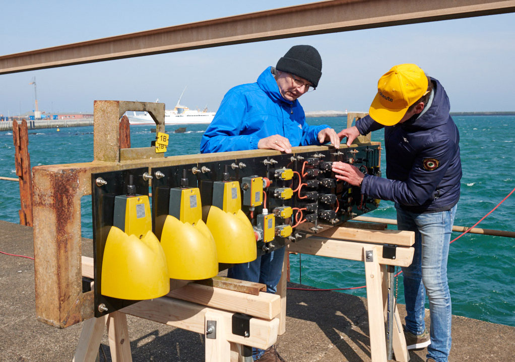 Testing extreme products in the North Sea - steute extreme