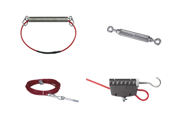 Accessories for pull-wire switches - steute