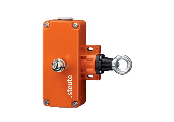 Pull wire switch with recovery key | steute | fortop