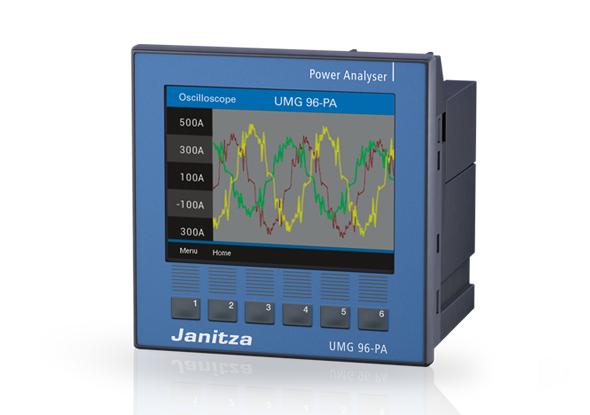 Universal measurement device UMG 96 RM - Janitza