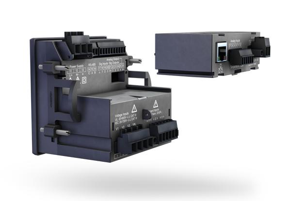 RCM module - Universal energy measurement device UMG 96-PA - Janitza