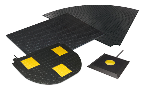 Contact mats and safety pads - BBC Bircher Smart Access